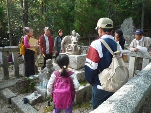 昭六さんの墓